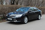 В новом стиле (Тест-драйв Toyota Camry)