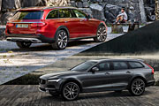 Тест-драйв Volvo V90 Cross Country & Mercedes E-Class All-Terrain