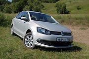 Ближе к народу (Тест-драйв Volkswagen Polo Sedan)