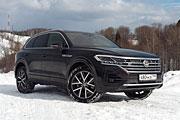 Без пяти минут «премиум» (Тест-драйв Volkswagen Touareg 3.0 TSI)