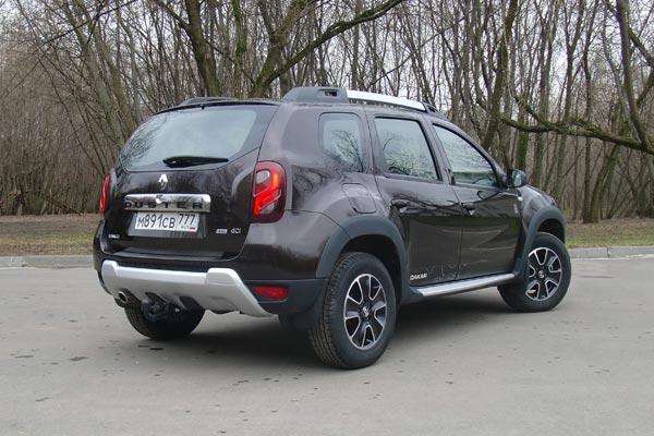 На Renault Duster можно без специальной подготовки отправиться хоть на Дакар, хоть в Заполярье, он справится