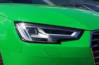 У тестового автомобиля светодиодные фары головного света