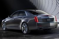 Новый c CTS построен на платформе GM Alpha, которая уже используется в модели Cadillac ATS