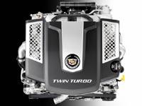 Двигатель Cadillac 3.6L V-6 Twin-Turbo развивает мощность 420 л.с.