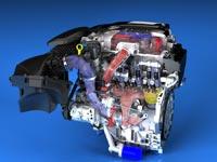 Двигатель Cadillac 3.6L V-6 Twin-Turbo является самым мощным 6-цилиндровым мотором в сегменте