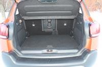 Объем багажника составляет от 410 до 520 л, в зависимости от положения задних кресел