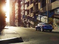 Ford Focus по-прежнему отлично вписывается в городское пространство