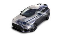 Схема полноприводной трансмиссии Ford Performance AWD
