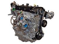 Четырёхцилиндровый двигатель Ford EcoBoost объёмом 2,3 литра.