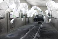 Автоматическая покрасочная линия фирмы Durr
