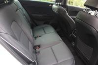 Спинки задних сидений регулируются по наклону на 37 градусов, вместо прежних 28