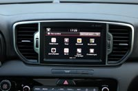8-дюймовый сенсорный экран мультимедийной системы с хорошим быстродействием и графикой