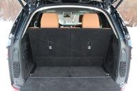 Багажник в семиместной конфигурации невелик - около 258 литров
