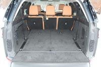 Откидная полка багажника выдерживает вес до 300 кг