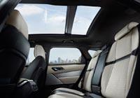 Панорамная крыша Range Rover Velar может быть фиксированной или сдвижной