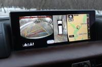 Камеры Multi Terrain Monitor помогают маневрировать на парковке