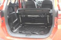 Если сложить  сидения третьего ряда, объем багажника вырастет до 1038 л
