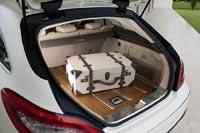 Багажное отделение серийного купе CLS Shooting Brake