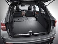 Если сложить спинку заднего сиденья, то объём багажника увеличится до 1600 л