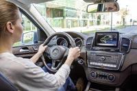 Mercedes-Benz GLE 500 e 4MATIC способен проезжать на электрической тяге до 30 км