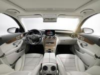 Интерьер автомобиля Mercedes-Benz C 300 BlueTEC HYBRID, Exclusive Line
