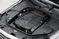 Подкапотное пространство автомобиля Mercedes-Benz S 400 Hybrid