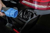 Разъём для подзарядки автомобиля Mercedes-Benz S 500 Plug-In Hybrid от сети