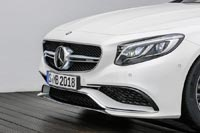 Mercedes-Benz S 63 AMG Coupe. Аэродинамический элемент A-Wing