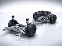 Подвеска Magic Body Control с функцией наклона кузова в поворотах автомобиля Mercedes-Benz S 63 AMG