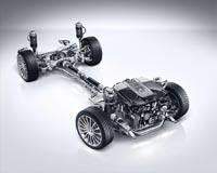 Mercedes-Benz S 65 AMG Coupe. Спортивная подвеска AMG на базе системы Magic Body Control