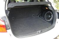 Объем багажника всего 416 л