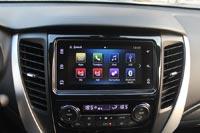 Pajero Sport получил современную мультимедийную систему с сенсорным экраном
