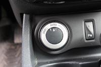 Селектор режима работы трансмиссии такой же как на старших кроссоверах Nissan