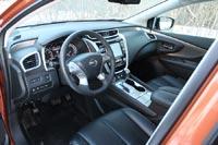 Эргономика у Nissan Murano близка к оптимальной