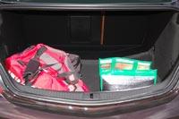 Багажник относительно небольшой