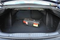Объем багажника 560 л - рекордное значение для своего класса