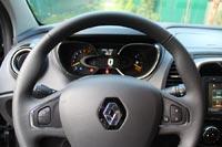 Небольшой по диаметру руль от Renault Clio хорошо ложится в руки