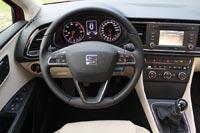 В эргономике Seat исповедует ценности Volkswagen, а значит здесь все под рукой.