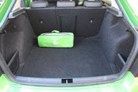 Объем багажника впечатляет: 550 литров в стандарте