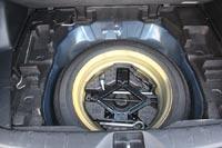 Под полом запасное колесо - докатка