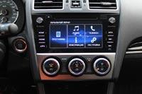 Современную мультимедийную систему с сенсорным экраном на Subaru XV начали устанавливать еще до рестайлинга