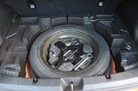 В подполье запасное колесо - «докатка»