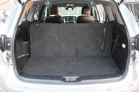 При семиместной компоновке салона объем багажника всего 269 л