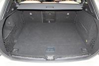 Багажник объемом 505 л имеет правильную форму