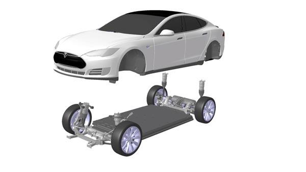 конструкция тесла модель s