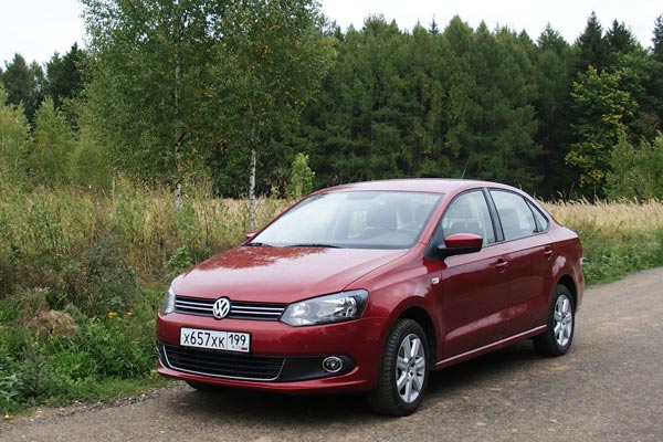 Благодаря набору потребительских качеств Polo Sedan должен занять достойное место на российских дорогах